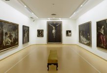 Interior del Muséu de Belles Artes d'Asturies