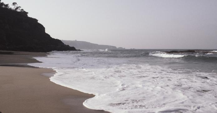 La playa de La Ñora contará un añu más con bandera azul.