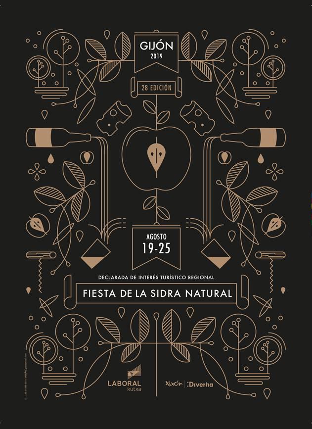 La Fiesta de la Sidra Natural ya tiene cartel