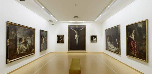 Interior del Museo de Bellas Artes de Asturias.